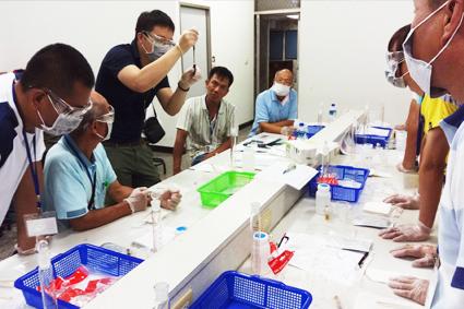農藥製劑與調配實習