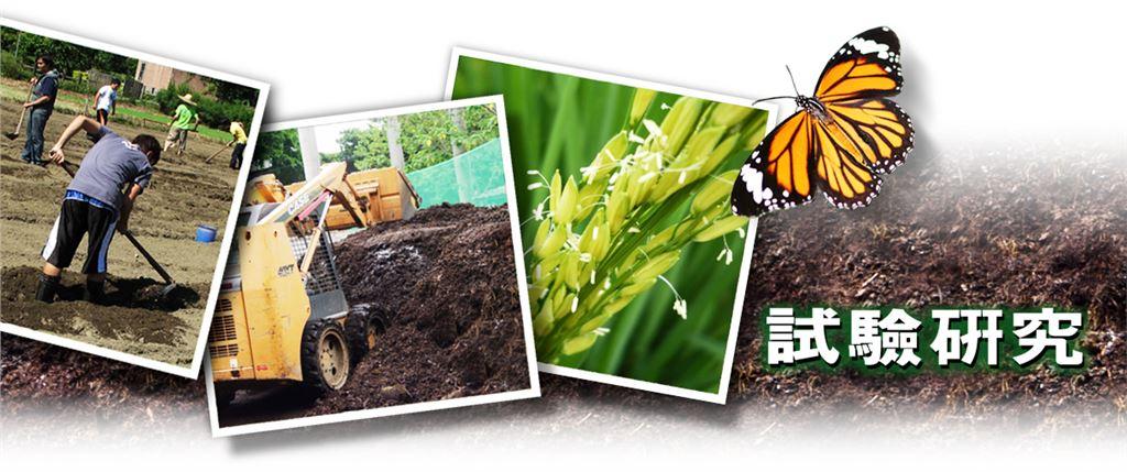 協助生物資源暨農學院教職員生,在農場進行的試驗研究,提供耕耘、開溝、作畦、除草、施肥及收穫等工作的圖片影像