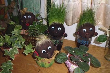 草頭寶寶裝飾藝術