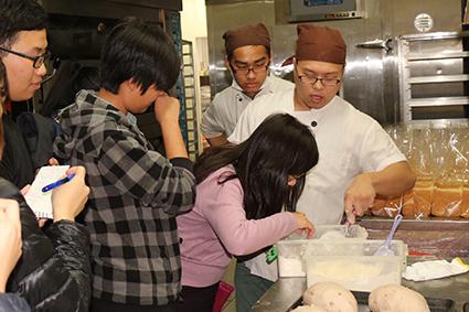 麵包烘焙實習上課實況